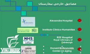 نمونه موردی بیمارستان خارجی + مجموعه کامل تصاویر و نقشه ها